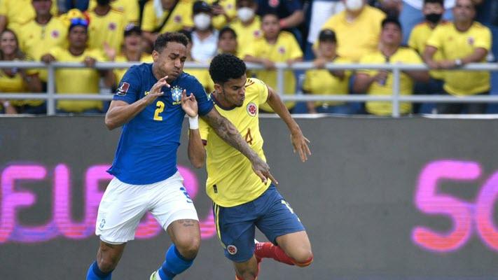 โคลอมเบีย 0-0 บราซิล